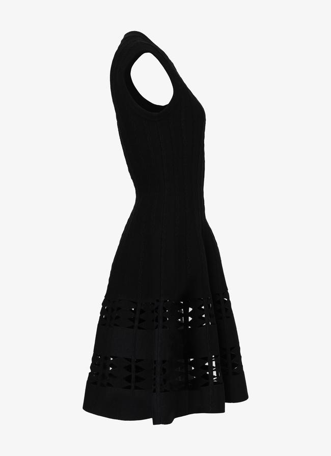 Flared knitted dress - maison-alaia.com