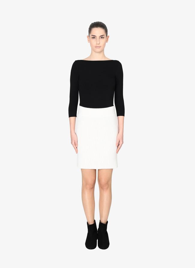 Alaïa Edition 1985 Fitted Mini Skirt - maison-alaia.com