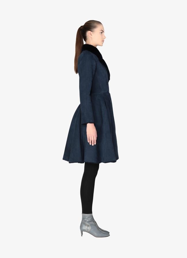 Merino woolen coat - maison-alaia.com