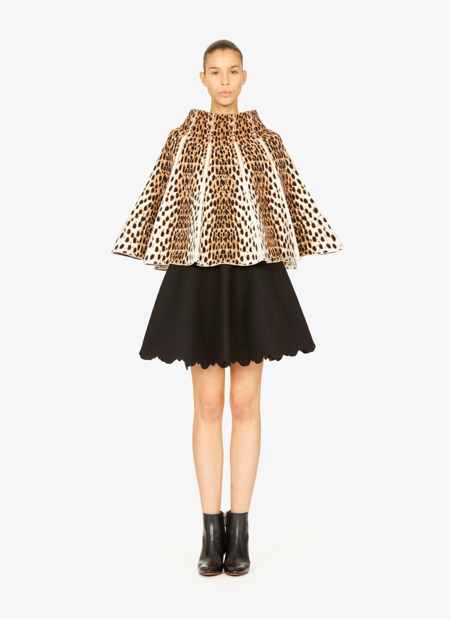 Knitted cape - maison-alaia.com