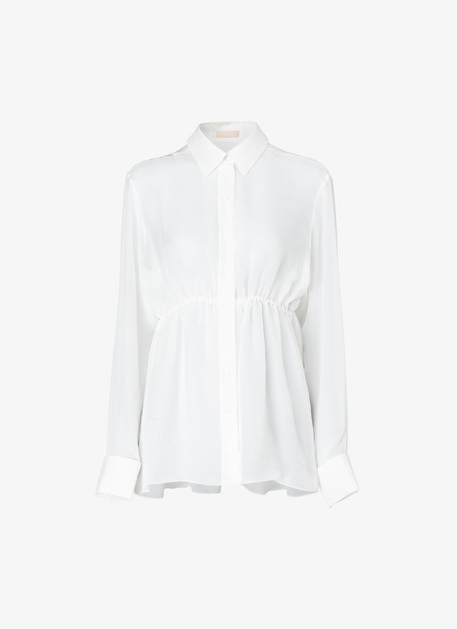 Tailored pleated shirt - maison-alaia.com