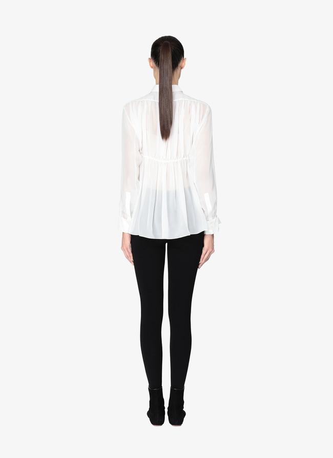 Tailored Pleated Shirt - maison-alaia.com