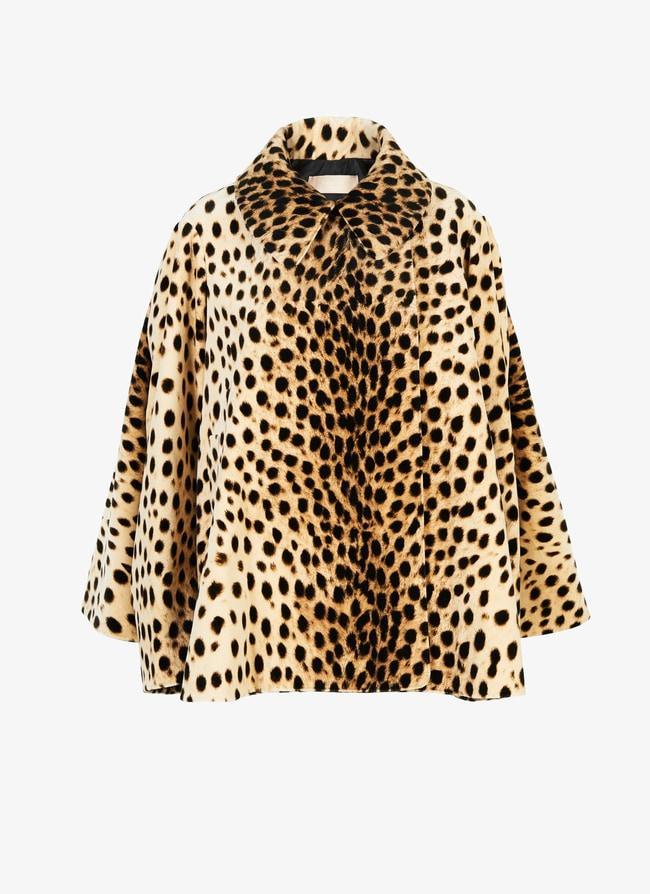 Flared velvet coat - maison-alaia.com