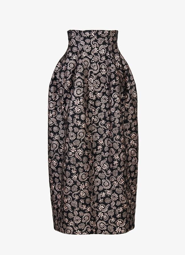 Long embroidered skirt - maison-alaia.com
