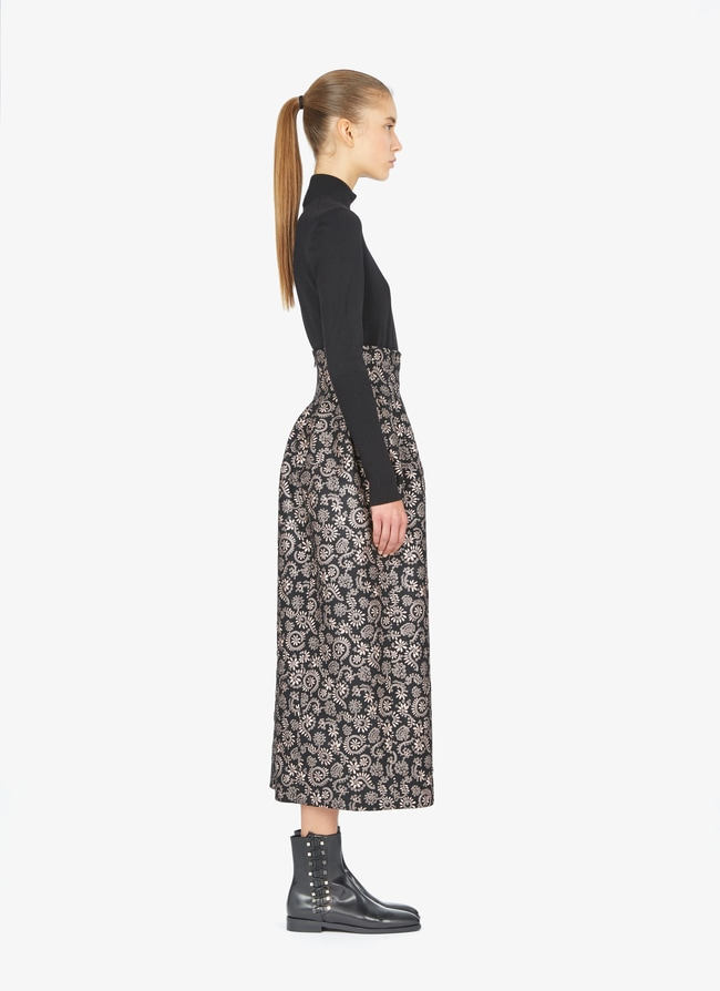 Long embroidered skirt - maison-alaia.com
