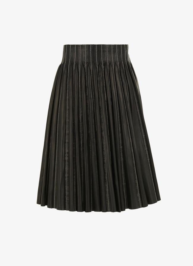 Leather skirt - maison-alaia.com
