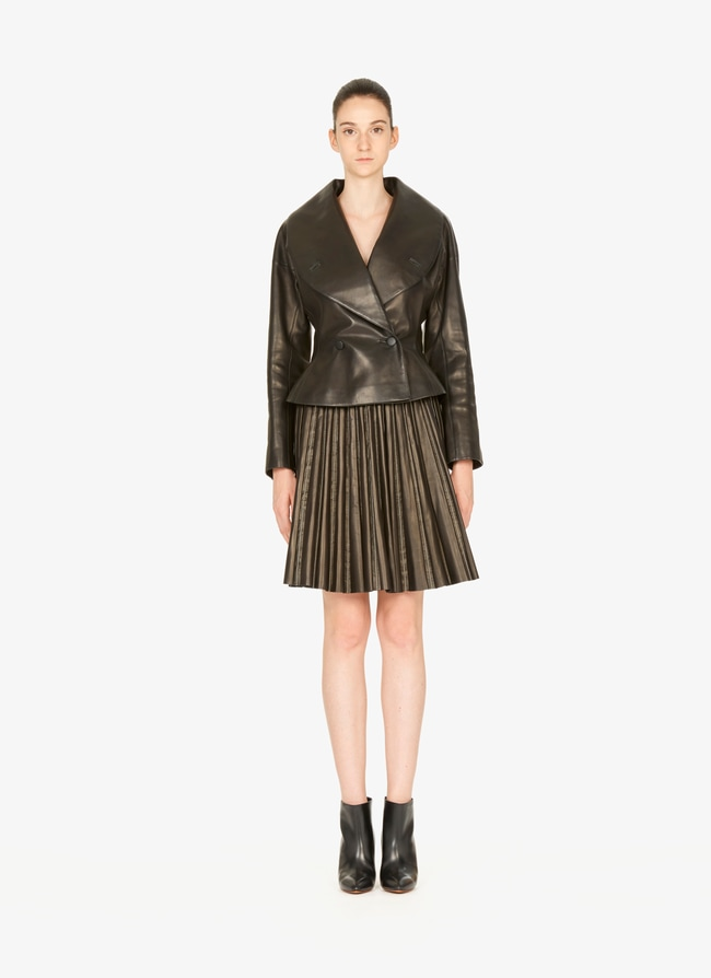 Leather Skirt - maison-alaia.com