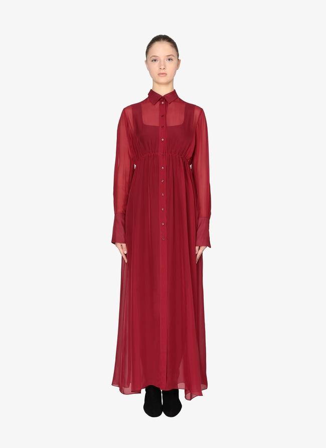 Long shirt-dress - maison-alaia.com