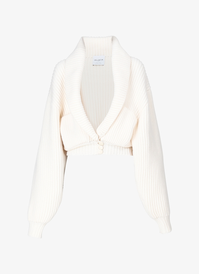 ALAÏA EDITION 1985 Shawl collar jacket - maison-alaia.com