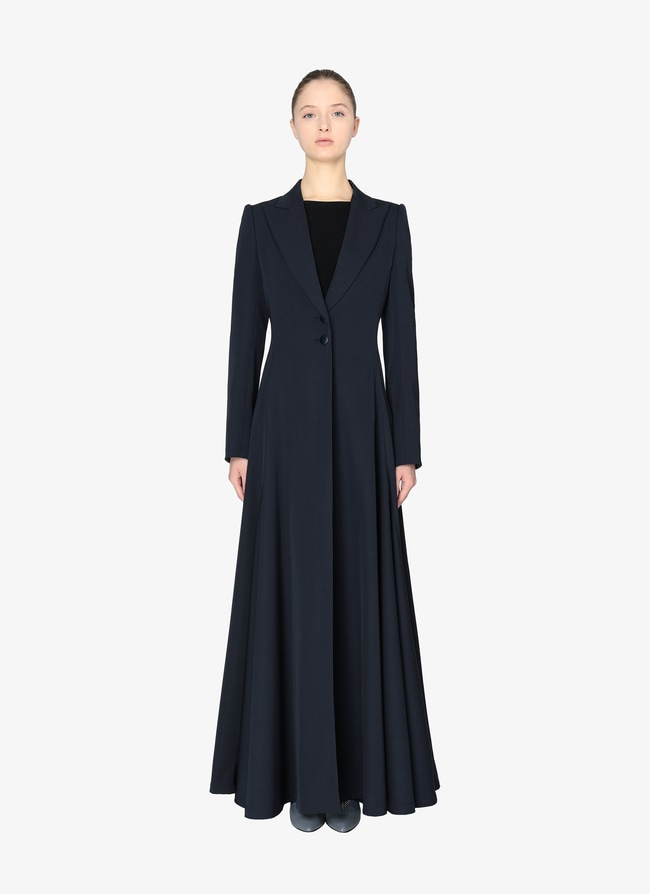 LONG TAILORED COAT - maison-alaia.com