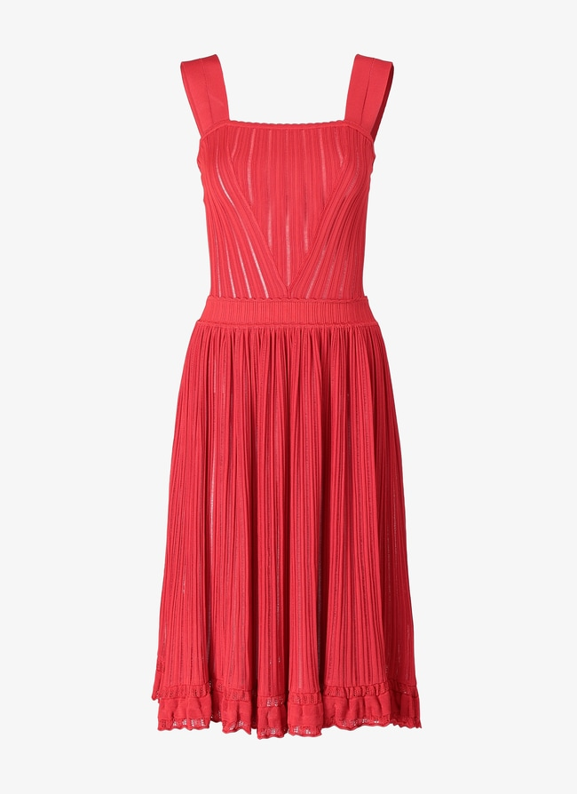 FLARED MINI-DRESS - maison-alaia.com