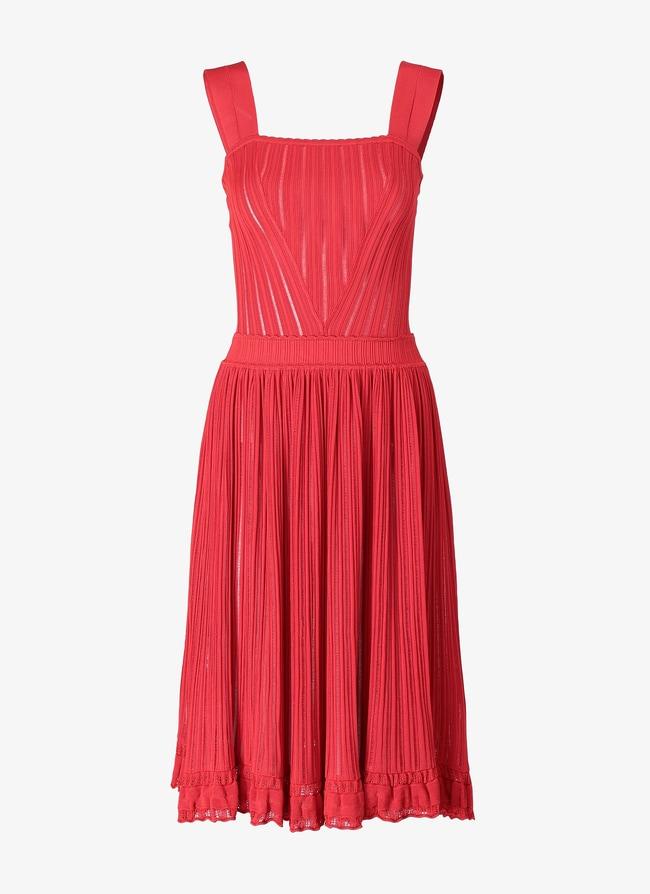 Flared Mini-Dress - maison-alaia.com