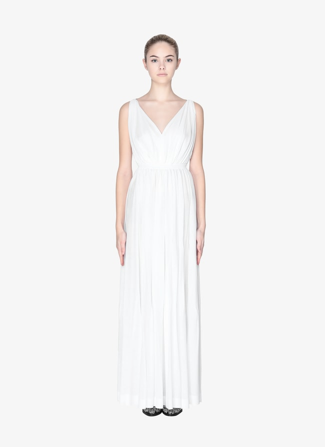 LONG OPEN BACK DRESS - maison-alaia.com