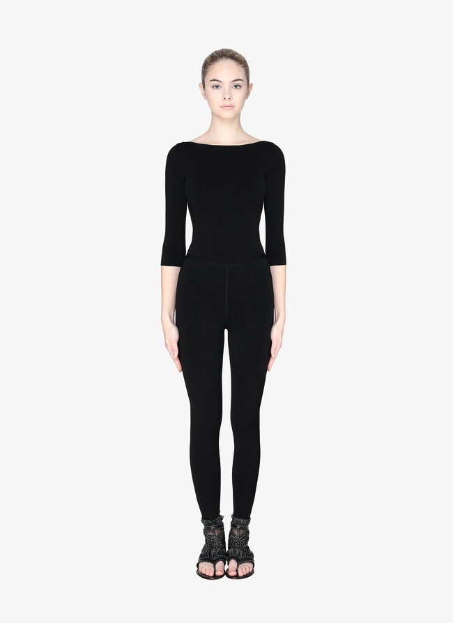 LONG-SLEEVED BODYSUIT - maison-alaia.com