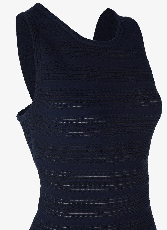 Long Knitted Dress - maison-alaia.com