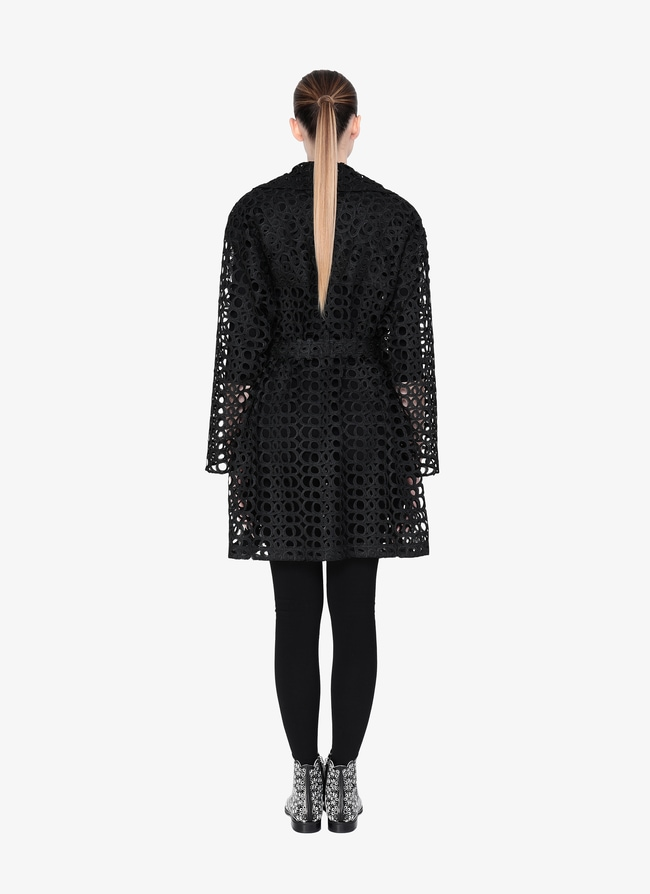 Embroidered Trench - maison-alaia.com