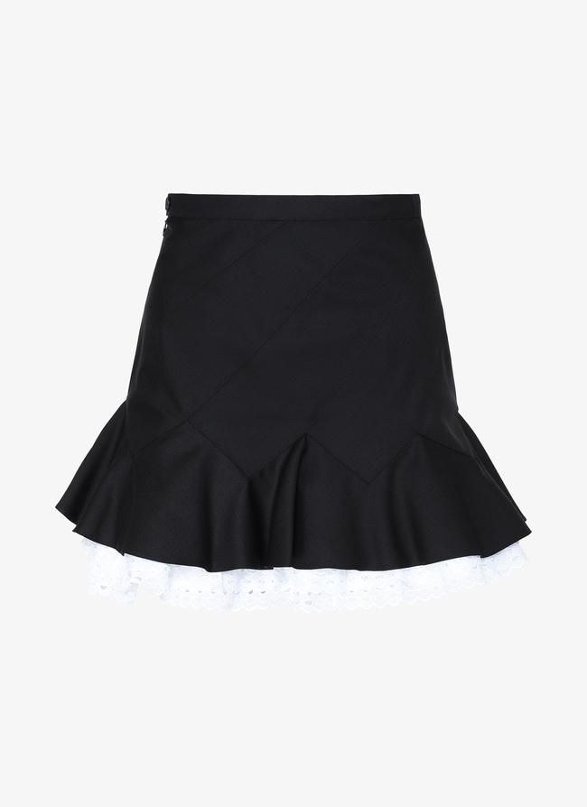 Alaïa Edition 1992 Embroidered Skirt - maison-alaia.com
