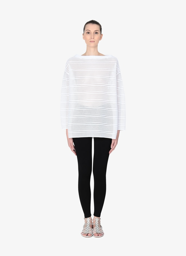 Oversized Sweater - maison-alaia.com