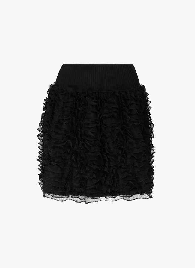 Mini Ruffled Skirt - maison-alaia.com