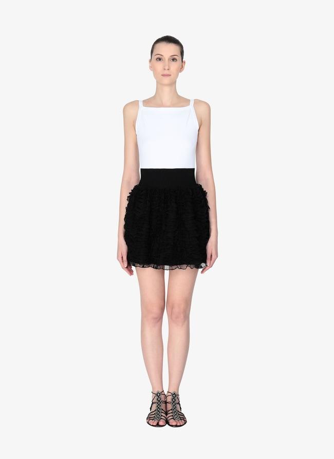 Mini Ruffled Skirt - maison-alaia.com