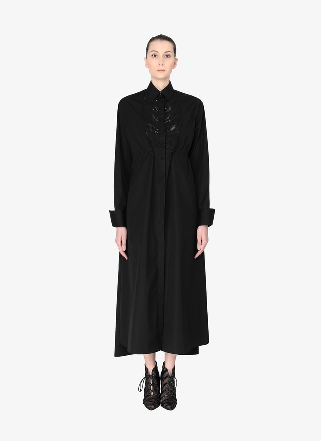 Poplin Shirt Dress - maison-alaia.com