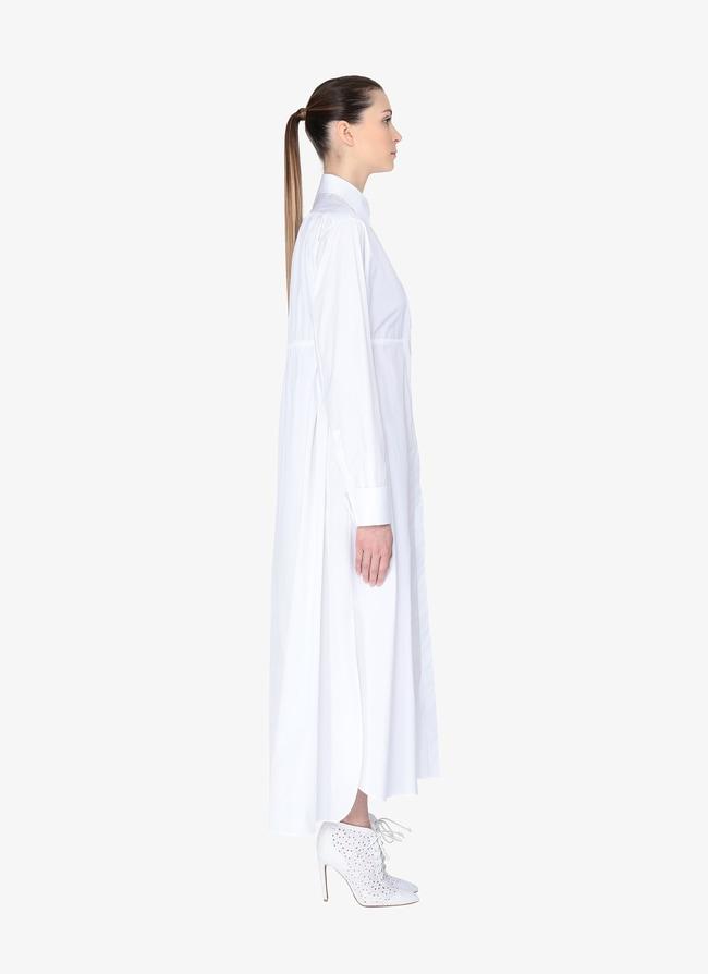 Poplin Shirt Dress - maison-alaia.com