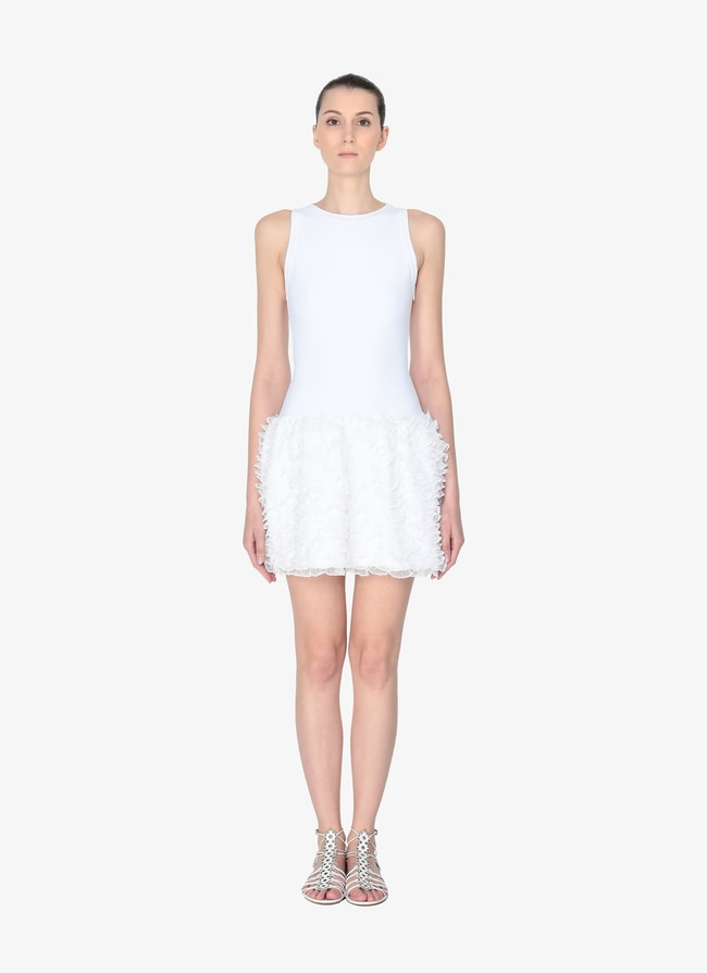 RIBBED MINI-DRESS - maison-alaia.com