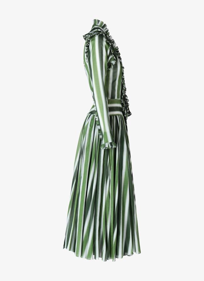 Long Flared Dress - maison-alaia.com