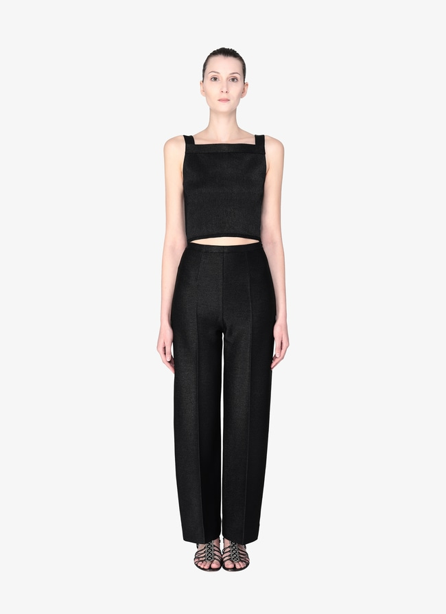 Sleeveless Crop Top - maison-alaia.com