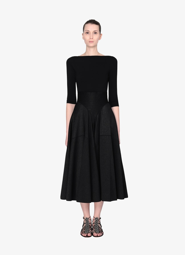 Long Knitted Skirt - maison-alaia.com