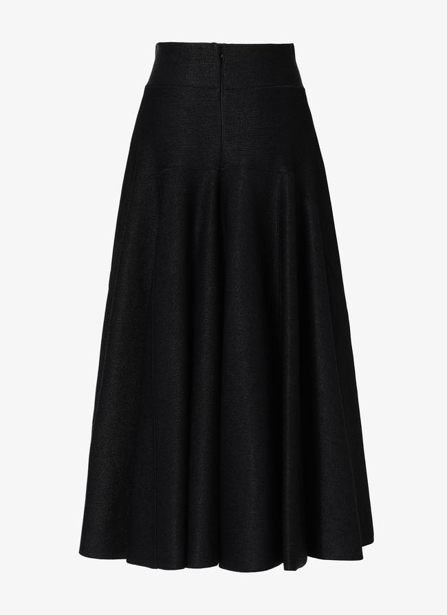 Long Knitted Skirt - maison-alaia.com