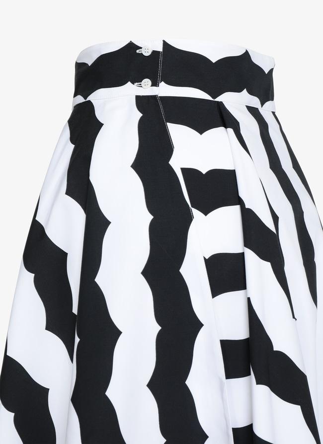 Alaïa Edition 1990 Long Flared Skirt  - maison-alaia.com