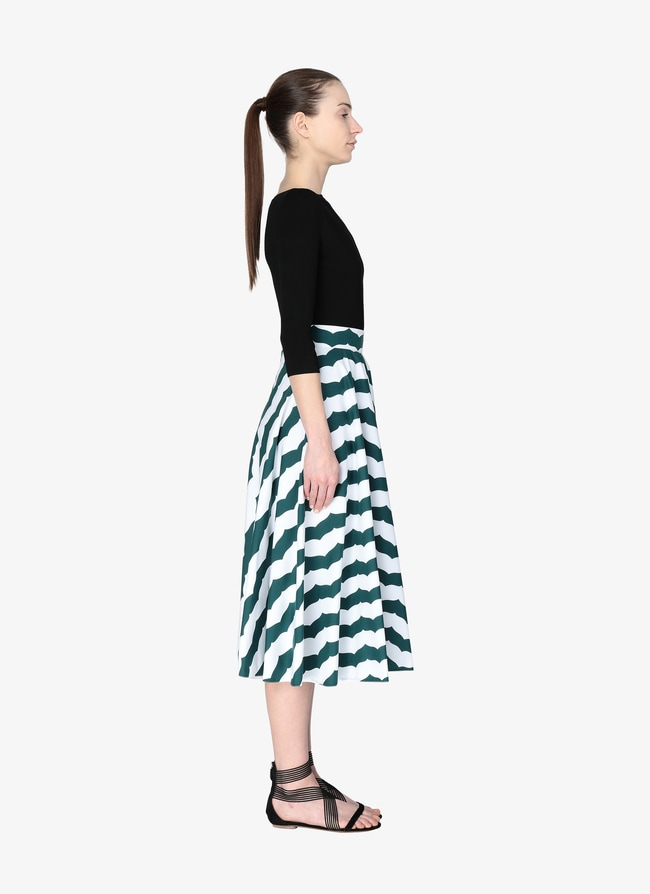 Alaïa Edition 1990 Long Flared Skirt  - maison-alaia.com