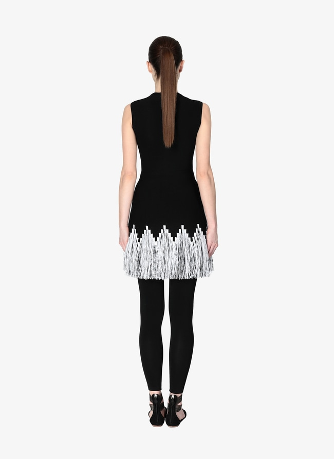 Fringed Mini-Dress - maison-alaia.com