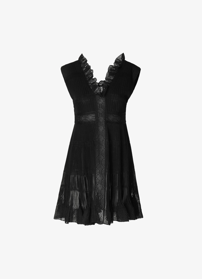 Open Back Mini-Dress - maison-alaia.com