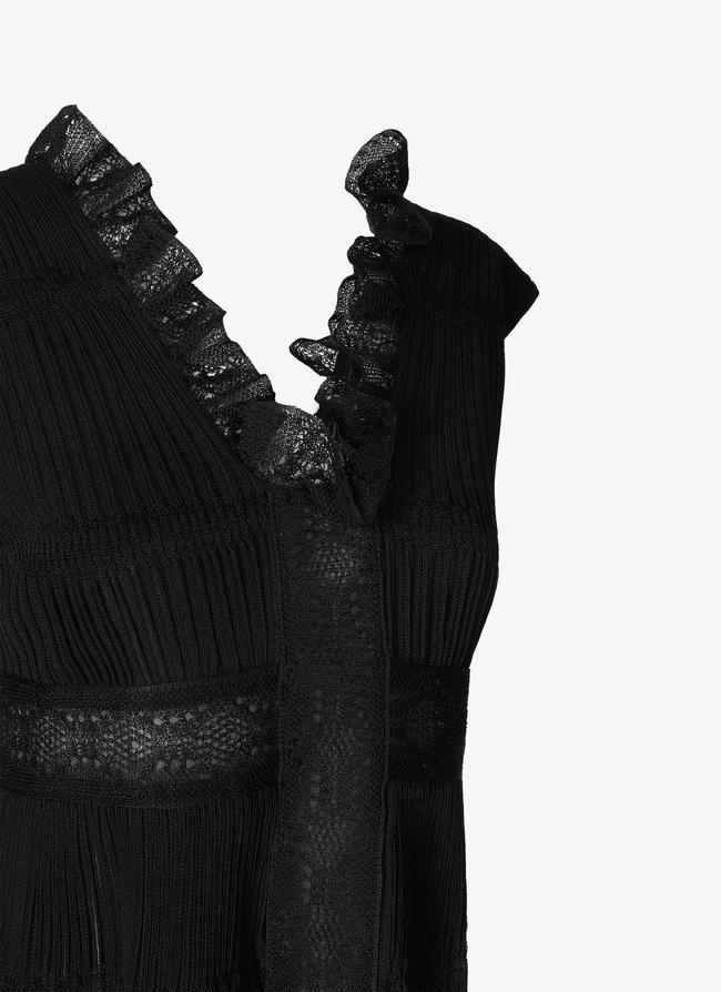 Open Back Mini-Dress - maison-alaia.com