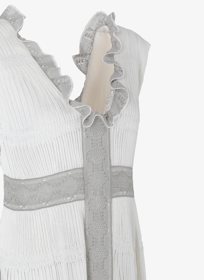 Long Open Back Dress - maison-alaia.com