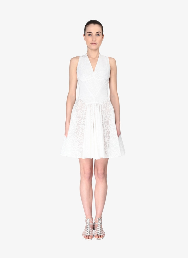 Geometric Mini-Dress - maison-alaia.com
