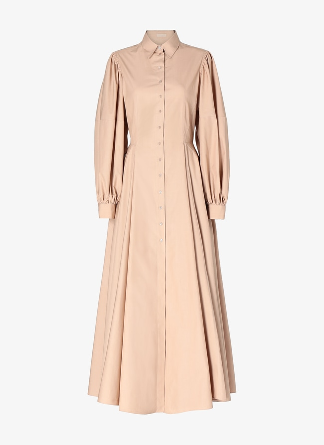 Balloon-Sleeved Dress - maison-alaia.com