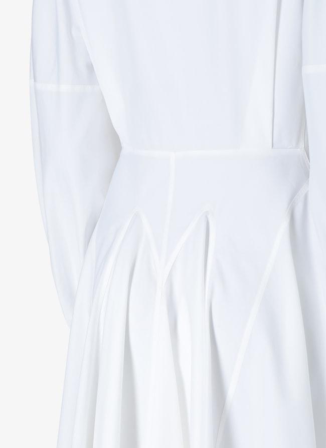 Balloon-Sleeved Dress - maison-alaia.com