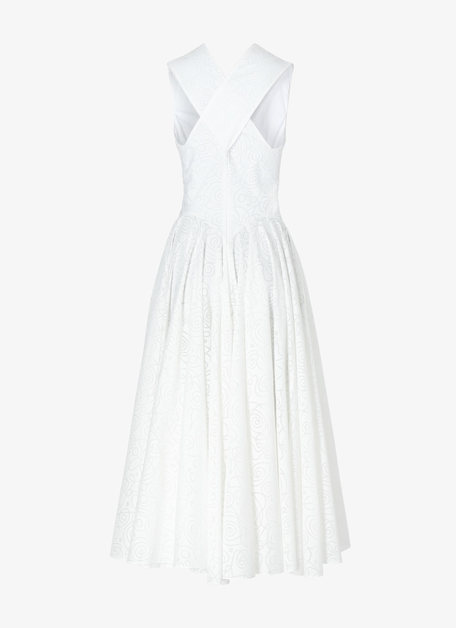 Geometric Midi-Dress - maison-alaia.com