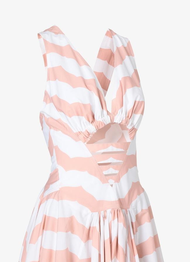Alaïa Edition 1990 Geometric Back Dress - maison-alaia.com