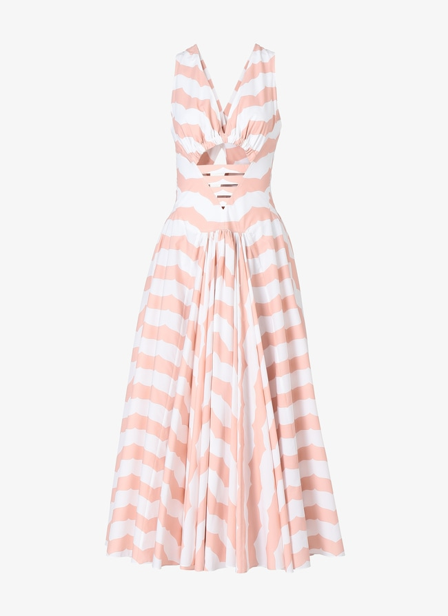 Alaïa Edition 1990 Geometric Back Dress - maison-alaia.com