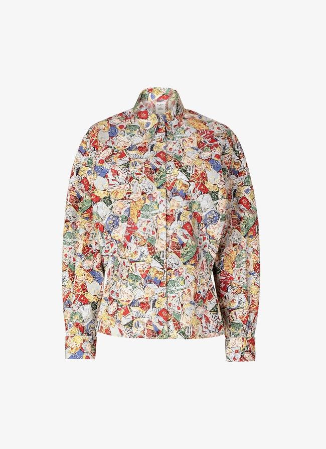 Oversize Poplin Shirt  - maison-alaia.com