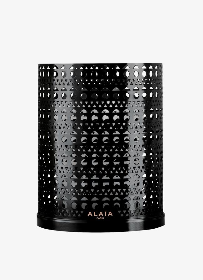 ALAÏA Paris Scented candle & Laser Cut Photophore  - maison-alaia.com